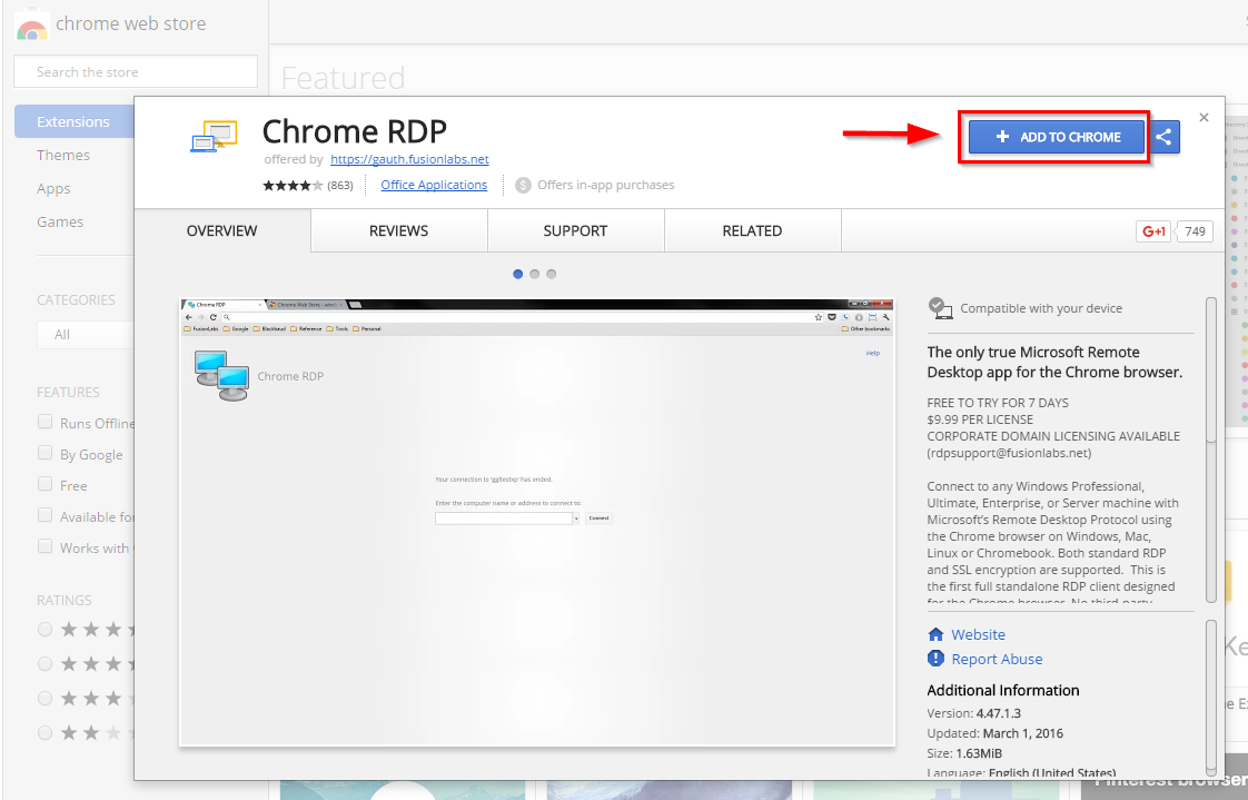 Chrome OS) How to connect to remotedesktop sou edu and