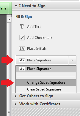 how to create signature in adobe reader