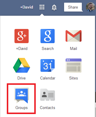 how to add google groups to gmail