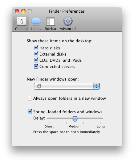 Finder...Preferences...show Connected Servers