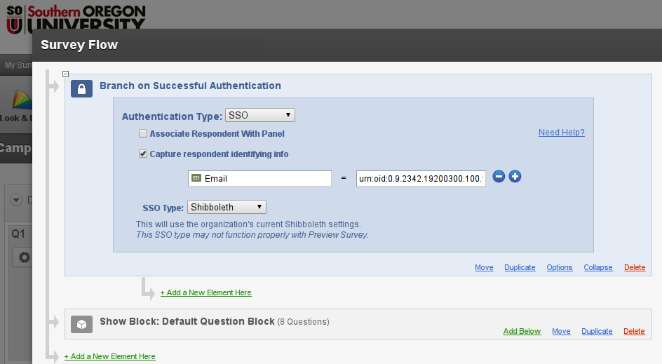 Qualtrics SSO Authentication and Capture