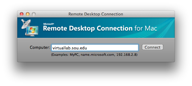 Mac RDC Virtuallab