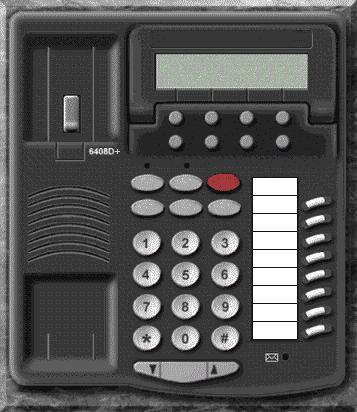 Avaya 6408D+ digital phone set